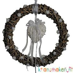 Wedding wreath. Simple and elegant.