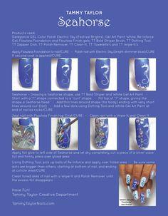 Seahorse Nail Art Tutorial