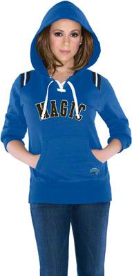 Touch by Alyssa Milano Orland Magic Laced Up Fleece Hooded Sweatshirt