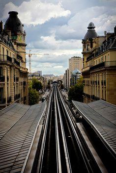 Paris de Passy sur le Seine a Bir Hakeim