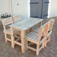 Kids table and chairs | Do It Yourself Home Projects from Ana White ...