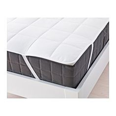 IKEA - KUNGSMYNTA, Mattress protector,  , Queen, , You can prolong the life of your mattress against stains and dirt with a mattress protector.You get a dry and comfortable sleeping environment since the lyocell/cotton cover breathes well, which helps air to circulate and moisture to evaporate.Elastic in each corner keeps the mattress protector in place.A good choice if you are allergic to dust mites since the protector is machine-washable at 140°F (Hot), a temperature that kills dust mites.