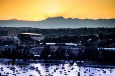 Heaven on Earth: Husky Stadium.