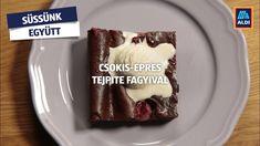 Egy igazi csokis, gyümölcsös, de mégis hűsítő desszert! Próbáld ki te is kizárólag ALDI hozzávalókból! Food, Essen, Meals, Yemek, Eten