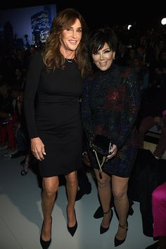 Caitlyn Jenner and Kris Jenner attend the 2015 Victoria's Secret Fashion Show