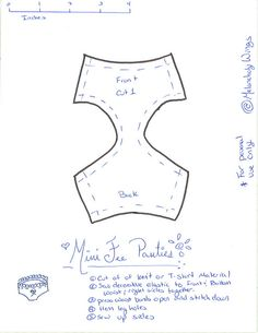 MNF Panty Pattern | Flickr - Photo Sharing!