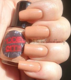 Model City Polish - Orange you Just Peachy