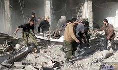First aid convoy to 2 besieged Syria…: A convoy of food and medicine entered two besieged Syrian towns near Damascus on Wednesday, the…