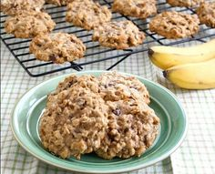 For a nice fall sweet and healthy treat, try:Banana Silver Palate Oatmeal CookiesNO SUGAR!! 3 mashed bananas (ripe) 1/3 cup no sugar added apple sauce 2 cups Silver Palate Thick and Rough Cut Oats 1/4 cup almond milk 1/2 cup raisins (optional) 1 tsp vanilla 1 tsp cinnamon  Make into round dollops, onto a greased cookie sheet. Bake at 350 for 15-20 minutes.  So good, you'll make them again and again! #vegan vegetarian #noaddedsugar #meatlessmonday #fitness #healthy #recipe
