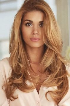 Copper Blonde Hair Color – Best Hair Color for Brown Green Eyes Check more at … - All For Hair Color Balayage Copper Blonde Hair Color, Golden Blonde Hair, Hair Color Blue, Hair Color Highlights, Hair Color Balayage, Blonde Color, Cool Hair Color, Haircolor, Ash Blonde