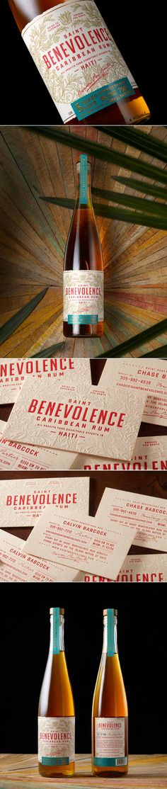 Saint Benevolence Is The Beautiful Rum That Aims to Give Back — The Dieline | Packaging & Branding Design & Innovation News