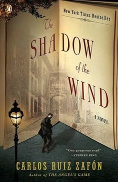 The Shadow of the Wind. A young boy investigates an author after finding a mysterious book in the Cemetery of Forgotten Books. Wonderfully written. Set in 1940's Spain; translated to English.