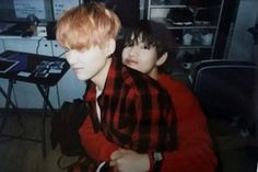Suga not wanting hugs at the momment | Bts | V | taehyung | min yoongi |