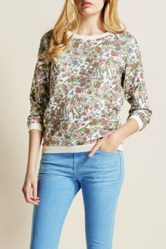 The Elmbank Crew | Jack Wills Floral Crew -> http://wills.ly/1q2P14n #Floraljumper #Floralcrew #Floral