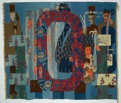 Randi Nygaard Lium ©Norwegian tapestry history / absolutetapestry.com
