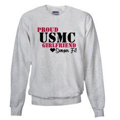 USMC GIRLFRIEND Sweatshirt