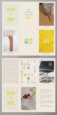 fold-up folder/poster/brochure - Elementos Argentinos | Bunker 3022