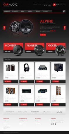 Design Needs Time - Get Template Espresso! Magento #template // Regular price: $180 // Unique price: $2500 // Sources available: .PSD, .XML, .PHTML, .CSS #Magento #Responsive #Car #CarAudio