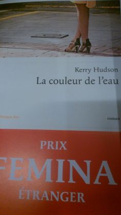 La couleur de l'eau-Kerry Hudson