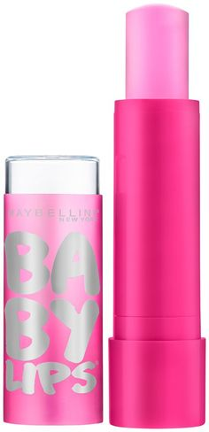 Pin for Later: 10 Maybelline Products That Are as Awesome as They Are Affordable Maybelline Baby Lips Glow Balm