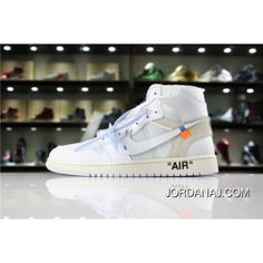 4a37ae4aafc1e0 Jordan Air JordanAj1 1 OFF-WHITE X White SKU AQ0818-100 OFF Joint All