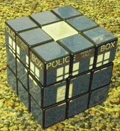 TARDIS rubix cube