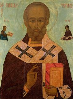 Icon of St. Nicholas. Russian School.