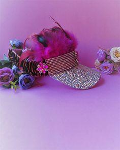 16ca235646b92 Items similar to Burning Man visor hat