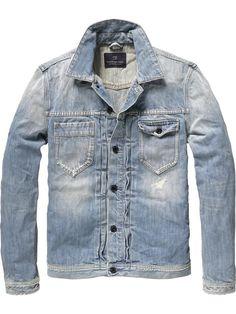 Scotch & Soda - Amsterdam Couture - Clothing, Fashion and Denim Shirt Men, Denim Jacket Men, Denim Coat, Denim Jeans, Denim Jackets, Hipster Indie, Stylish Men, Men Casual, Couture Outfits