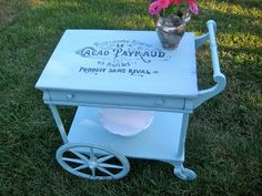Tea Cart gets a Fresh, French Makeover