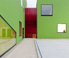 Antas Education Centre in Porto, Portugal by AVA Architects