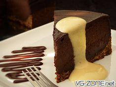 Cheesecake chocolat-amandes