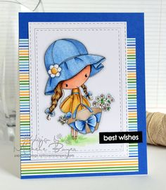 Michele Boyer - All Dressed Up Stamps