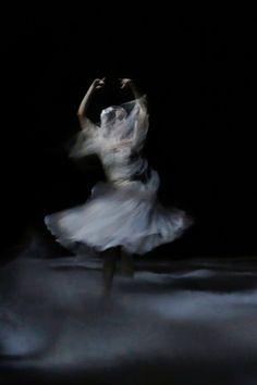 Paris Opera Ballet dancer as of the Wilis in Giselle  Photo © Svetlana Loboff