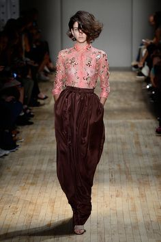 I could do this in different colors,  Jenny Packham New York Fashion Week Spring 2015 Runway