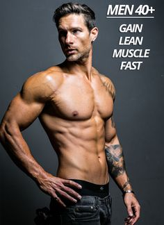 Here's how to gain lean muscle after 40.