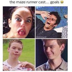 I love Thomas's face here...