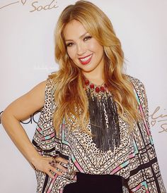 Thalia kicks off her fall collection at Macy's at Miami International Mall on October 10, 2015