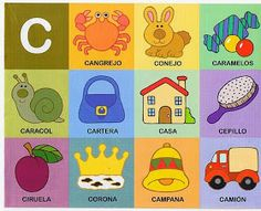 The teacher and his PT class: Phonological awareness Preschool Spanish, Spanish Activities, Preschool At Home, Alphabet Activities, Learning Spanish, Preschool Activities, Kids Learning, Phonological Awareness, Kindergarten Worksheets