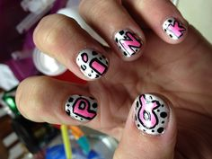 My breast cancer nails