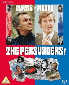 "Here we have the theme music for the TV series ""The Persuaders"" that run from 1971 staring ""Roger Moore and Tony Curtis"" This was a very good TV series and o. Tony Curtis, Roger Moore, Great Tv Shows, Old Tv Shows, Tv Vintage, Mejores Series Tv, Capas Dvd, Tv Detectives, Bon Film"