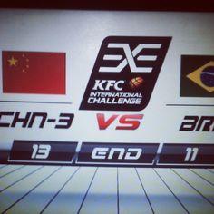 #分享Instagram# 中国三队也赢了,所有国家队全胜啊。。。