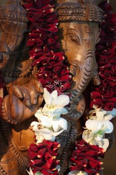 Suhaag Garden, Wedding Garlands, Rose Petals and Orchids, Shipping Nationwide