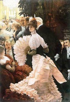 James Jacques Joseph Tissot (1836 —  1902) Франция