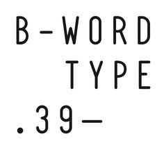 Studio 8 / Blazingword — #Typeface