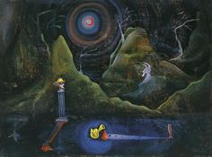 "Joan Ponc (Spanish: 1927- 1984) - ""nocturne"""