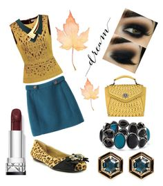 """""""Autumn Dream"""" by lhsbonez on Polyvore featuring Tory Burch, Adrienne Vittadini, Lulu Frost, Marni and Melie Bianco"""