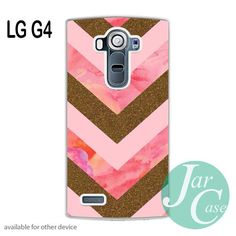 Awesome Pink Gold Glitter Chevron Phone case for LG G4 and other cases