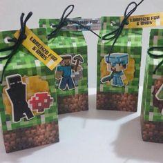 Kit Festa Minecraft Minecraft 1, Mailbox, Lunch Box, Outdoor Decor, Topper, Lucca, 3d, Minecraft Images, Box