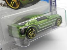 '10 Ford Shelby GT500 Super Snake, Metalflake Green, 2013 #hotwheels #collection